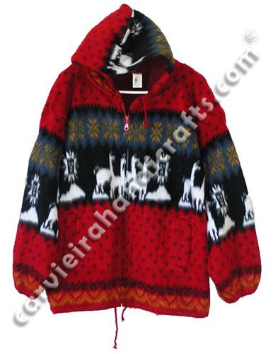 Alpaca Jackets Sweaters Ponchos Otavalo Carvieira